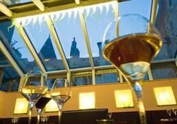 Bar de vinos en Beaune Bourgogne