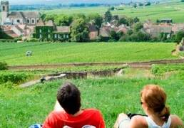 Rutas, paseos  Nolay, Meursault, Beaune, Chagny, Savigny-les-Beaune, Santenay.