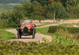 Route des Vins de Bourgogne - Bugatti