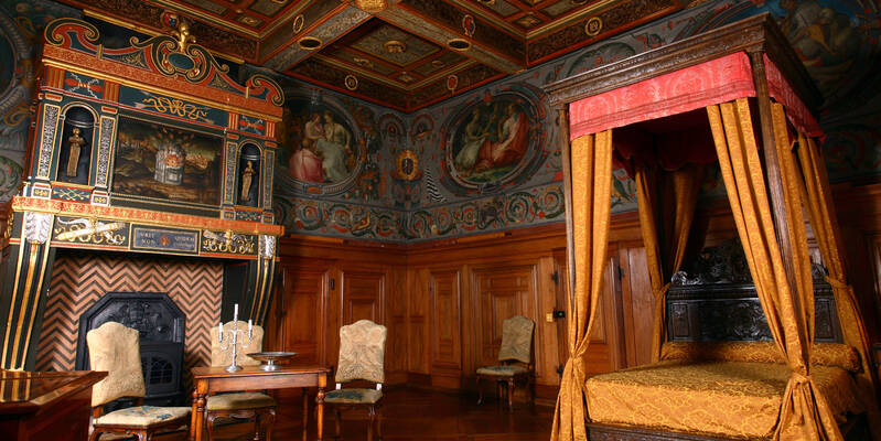 Chambre des Arts © Château d'Ancy le Franc