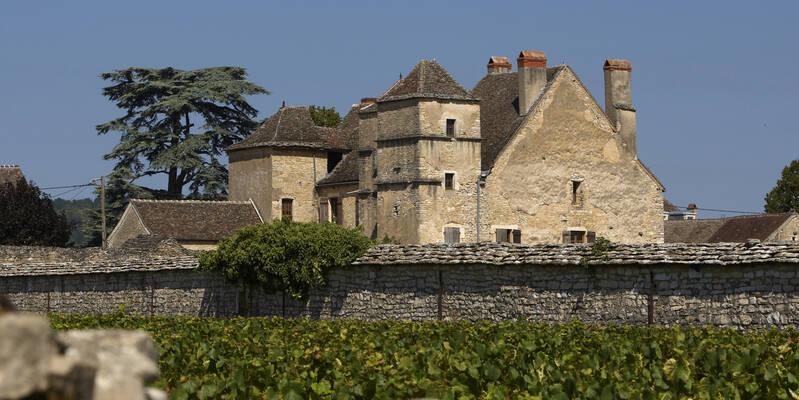 El castillo de la Velle de Meursault