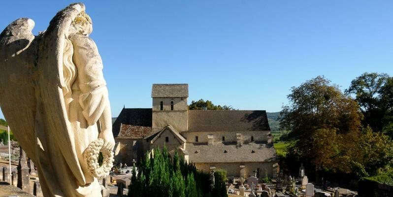 Santenay, Iglesia de Saint Jean de Narosse