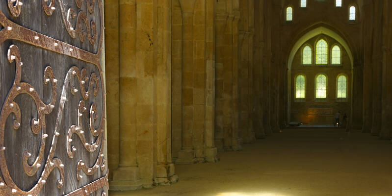 Abadía de Fontenay_Iglesia ©Fréderic Dupin