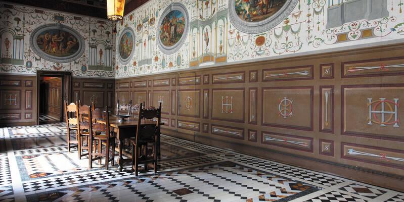 Galerie de Médée© Château d'Ancy le Franc
