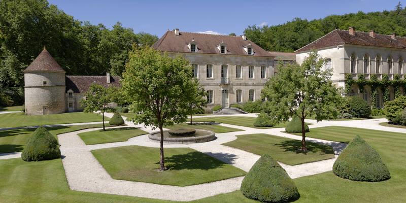 Abadía de Fontenay_Jardines ©Fréderic Dupin