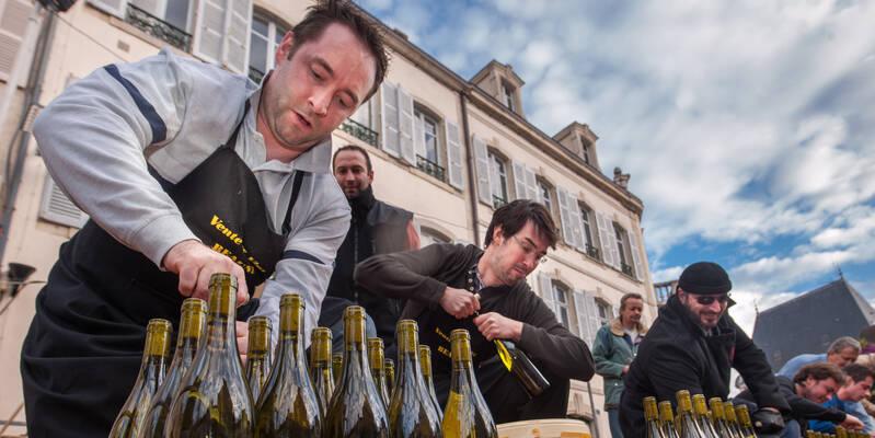Venta de vinos Beaune, Concurso de sacacorchos
