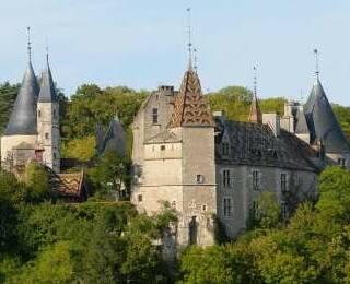 Castillos y abadías de Borgoña