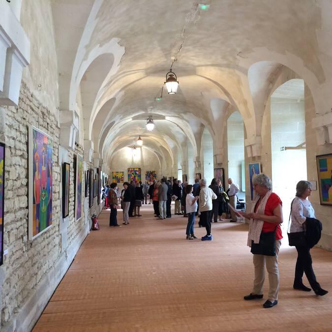 Château d'Ancy le Franc Exposition Orangerie 2015 Réalités Poétiques France Wagner