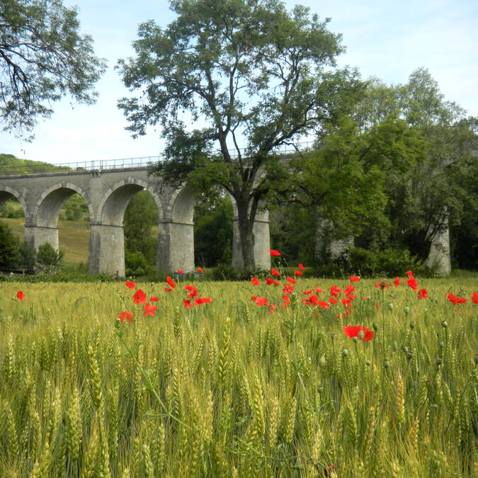 Viaducto de Nolay