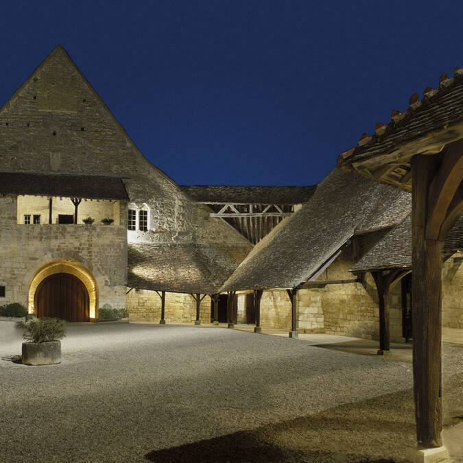 Clos de Vougeot, Patio interior