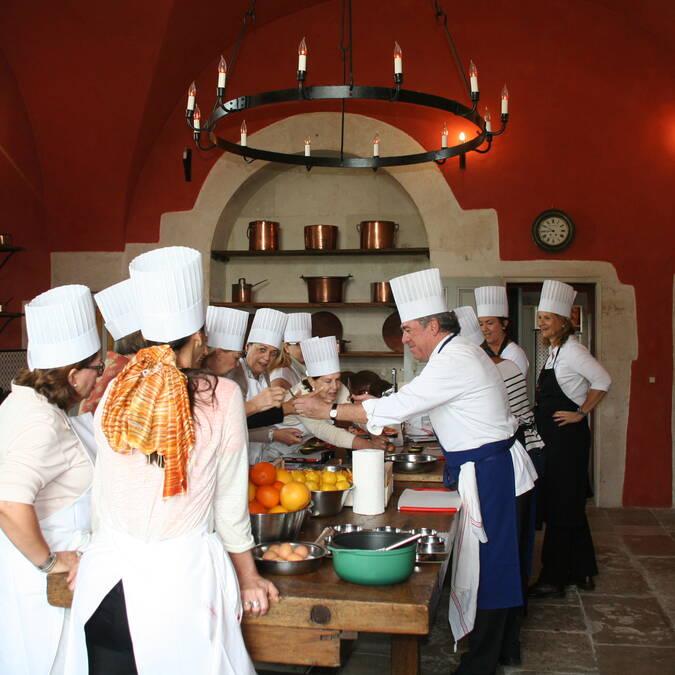 Cours de Cuisine JLBarnabet Château d'Ancy le Franc