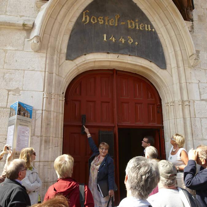 Entrada del Hôtel-Dieu Beaune