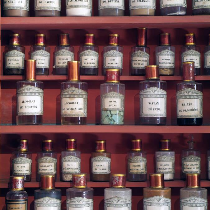 Hospicios de Beaune, Farmacia