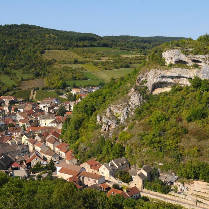 Saint-Romain le long de la Route des Grands Crus