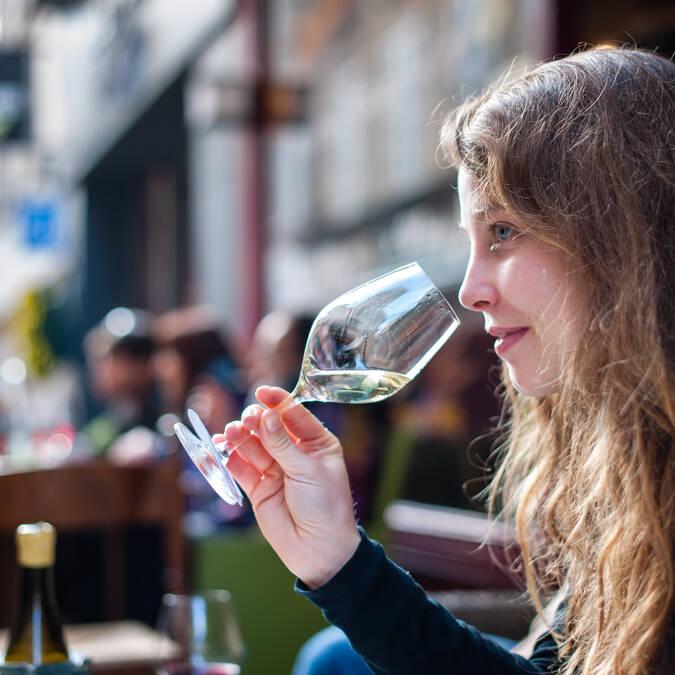 Venta de vinos Beaune, dégustation